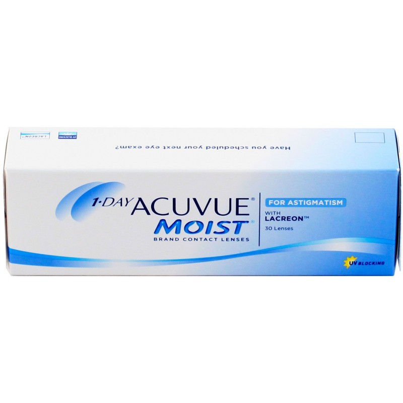 1-Day Acuvue Moist for Astigmatism 30 шт.